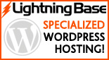 Lightning Base WordPress Hosting